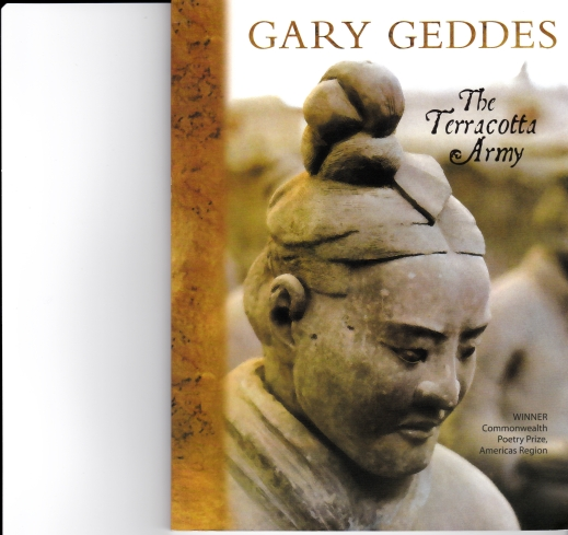 gary geddes cover soldiers