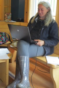 Jessica Simon. reporter/novelist at Bean North