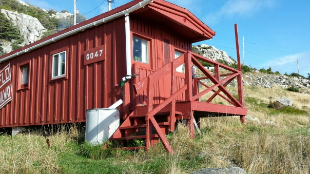 Original Caboose from the Newfoundland Railway