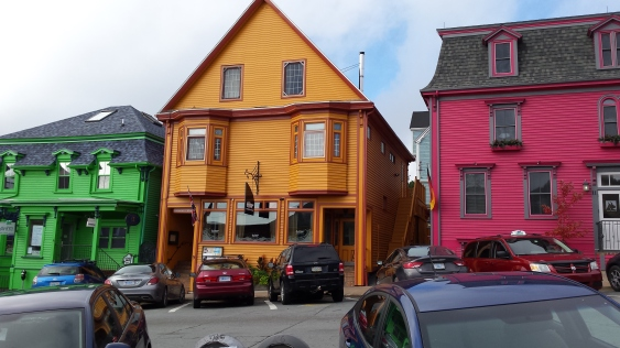 The colourful houses of Lunenberg